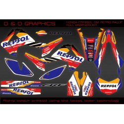 "Honda CRF250L CRF250M ""Repsol"" Full graphics kit"