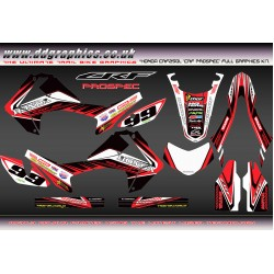 Honda CRF250L CRF Prospec Graphics Kit.
