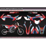 "Honda CRF250L"" Honda MX"" Full Graphics Kit"