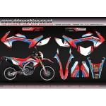 "Honda CRF250L"" Honda MX"" Full Graphics Kit"