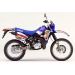 "Yamaha DT125 R ""player"" Full graphic Kit Blue."