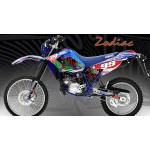 "Yamaha DT125RE / X  Lanza  "" Zodiac "" Full Graphic Blue"