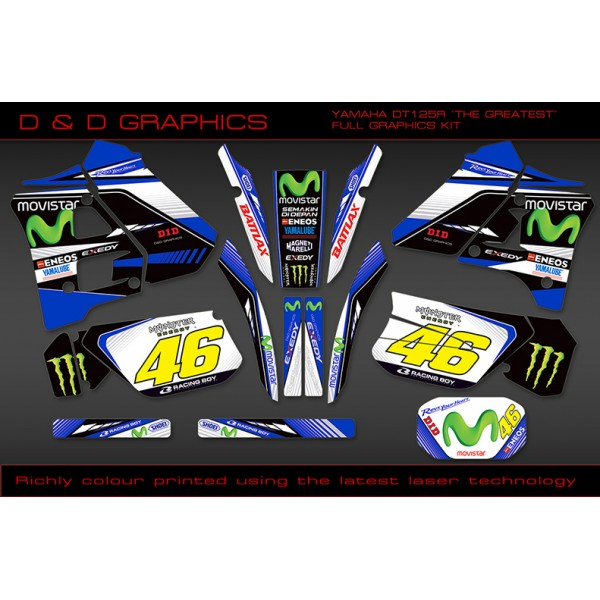 "DT125R / 200R ""The Greatest""  full Graphic Kit"