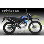 Yamaha XT125 Monster graphics kit.