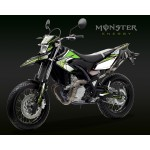 Yamaha WR125 wr125x  Monster Pro Graphics kit