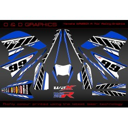 "Yamaha WR250R WR250X ""Fox Racing"" Full Graphics Kit"