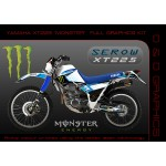 "Yamaha XT225 Serow ""Monster "" Full Graphics Kit"