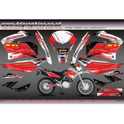 "Honda XR125 ""Racer"" Graphics kit"