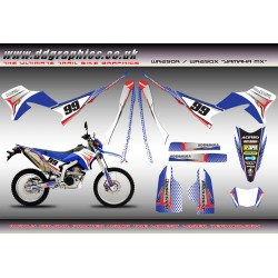 "Yamaha WR250X WR250R "" Yamaha MX "" Full Graphics Kit."