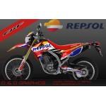 "Honda CRF250L CRF250M ""Repsol"" Full graphics kit"