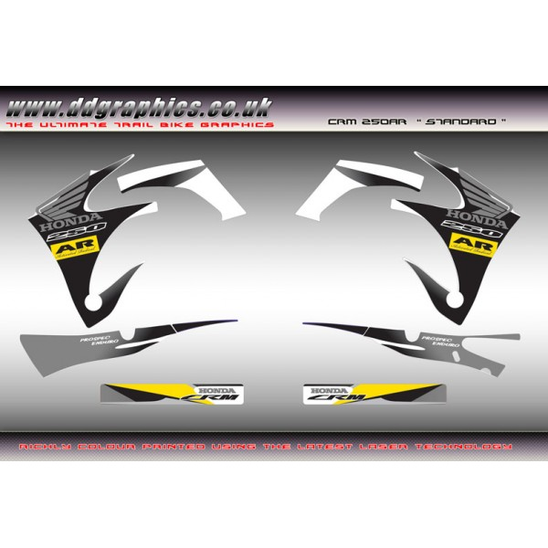 Honda CRM AR standard  graphics Kit