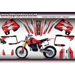 "Honda CRM250 Mk2 ""RACER"" Full Graphics Kit"