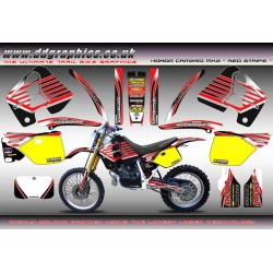 "Honda CRM250 Mk2 ""Red Stripe"" Full Graphics Kit."