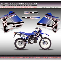 "DT125R / 200R ""NewDT Race Team"" Tank Graphic Kit"