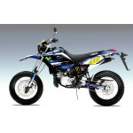 "Yamaha DT125RE / X  Lanza   ""The Greatest"" "" Full Graphic Kit blue"