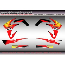 Honda CRM AR standard  graphics Kit for Black AR