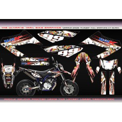 Yamaha WR125 wr125x player Graphics kit black